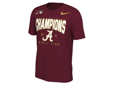 Alabama Crimson Tide Nike 2018 NCAA Men's College Football Playoff Orange Bowl Champ Locker Room T-Shirt