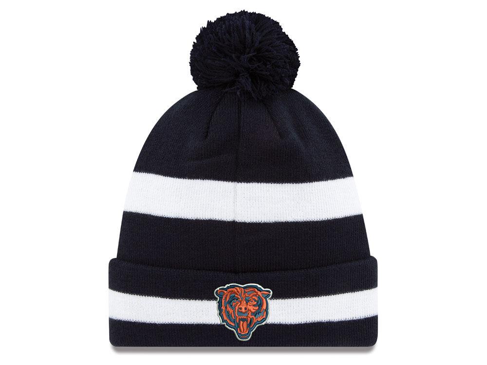 957e1688d Chicago Bears New Era 2018 NFL Chase Pom Knit