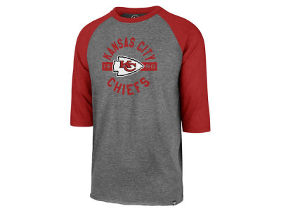 Kansas City Chiefs '47 NFL Men's Roundabout Club Raglan T-Shirt