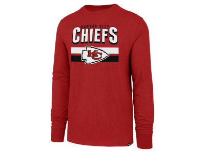 Kansas City Chiefs '47 NFL Men's Club Team Stripe Long Sleeve T-Shirt