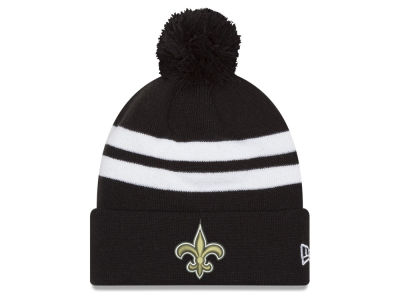 New Orleans Saints New Era 2018 NFL Chase Pom Knit