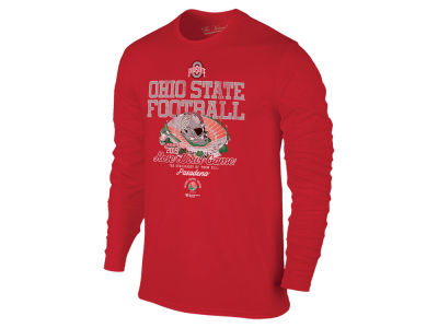 ed5292c3 2019 NCAA Men's Rose Bowl Bound Long Sleeve T-Shirt Apparel at  OhioStateBuckeyes.com