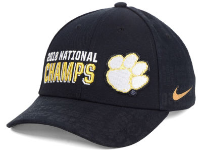 Clemson Tigers Nike 2019 NCAA National Championship Game Locker Room Cap 21529485a759