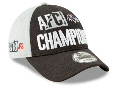 b0b77bd86d3 Baltimore Ravens New Era 2018 NFL Division Champ 9FORTY Cap