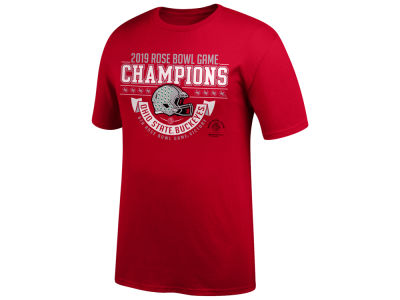 71e640c4c5f Ohio State Buckeyes Top of the World 2019 NCAA Men s Rose Bowl Champion  T-Shirt