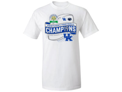 Kentucky Wildcats NCAA Citrus Bowl Champ T-Shirt 18-19