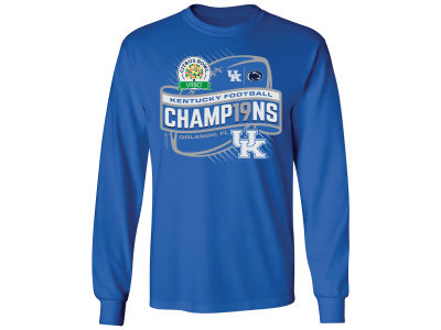 Kentucky Wildcats NCAA Citrus Bowl Champ LS T-Shirt 18-19
