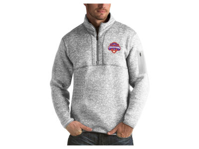 Clemson Tigers Antigua 2019 NCAA National Champ Fortune Quarter Zip Pullover