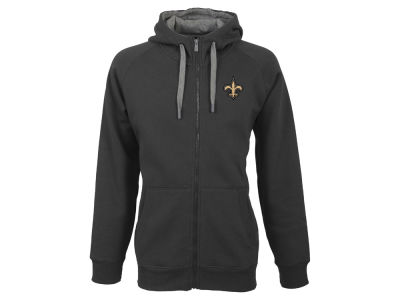 New Orleans Saints Antigua NFL Men's Victory Full Zip Hoodie