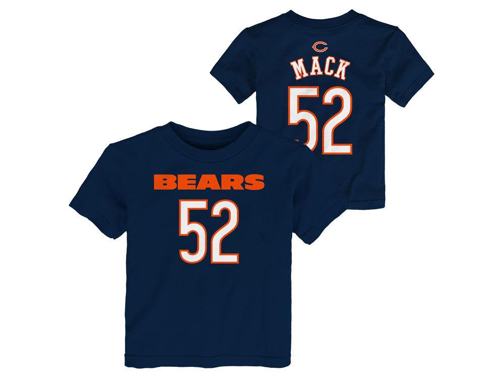 fb31a73c8 ... spain chicago bears khalil mack outerstuff nfl toddler mainliner player  t shirt lids 555f6 2d3a9
