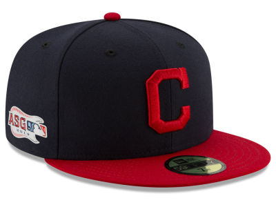 Cleveland Indians New Era 2019 MLB Authentic Collection All Star Game Patch 59FIFTY Cap
