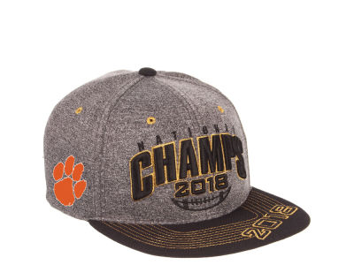 finest selection 87540 7403f ... greece clemson tigers zephyr 2019 ncaa national champ snapback cap  430b9 96337