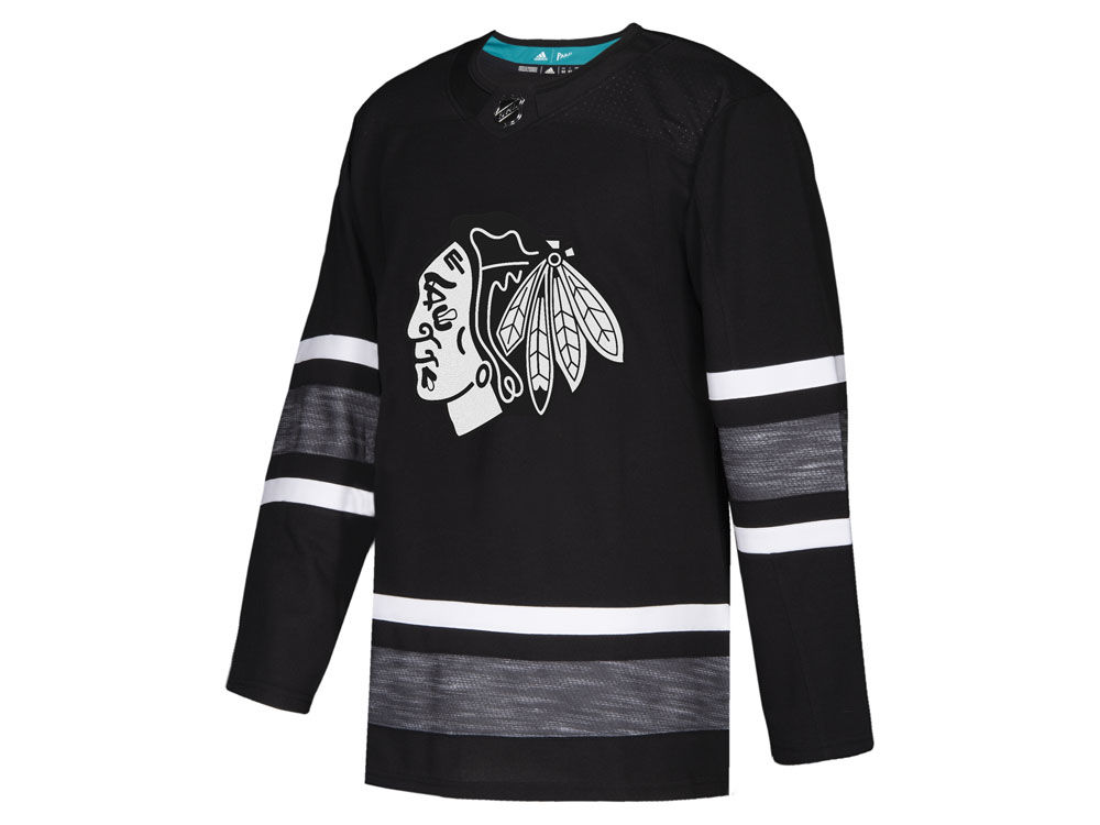40198f10b Chicago Blackhawks adidas 2019 NHL Men s All-Star Parley Authentic Jersey