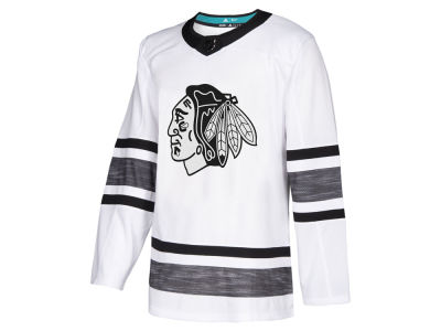 Chicago Blackhawks adidas 2019 NHL Men's All-Star Parley Authentic Jersey