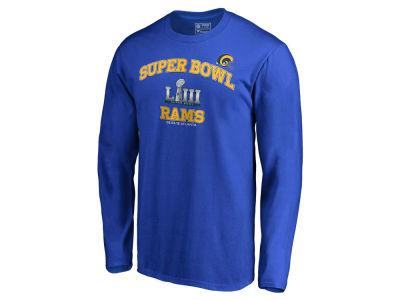 e099ff811 Los Angeles Rams Majestic NFL Men s Super Bowl LIII Bound Heart   Soul Long  Sleeve T