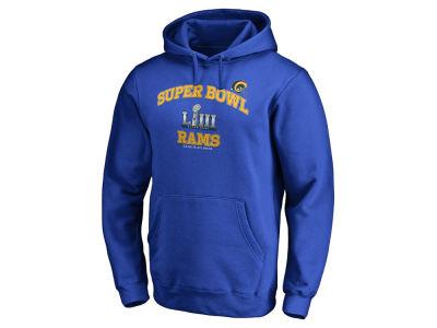 Los Angeles Rams Majestic NFL Men s Super Bowl LIII Bound Heart   Soul  Hoodie c361606b0