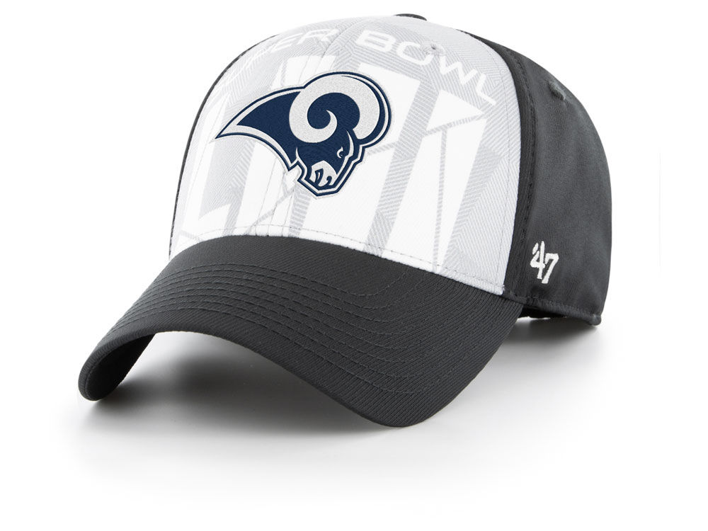 Los Angeles Rams  47 NFL Super Bowl LIII Crosshatch MVP Cap  88731052bac1