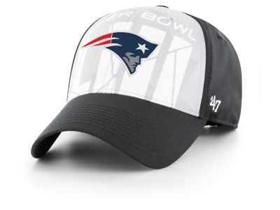 New England Patriots '47 NFL Super Bowl LIII Crosshatch MVP Cap