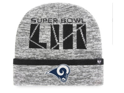 Los Angeles Rams '47 NFL Super Bowl LIII Birch Cuff Knit