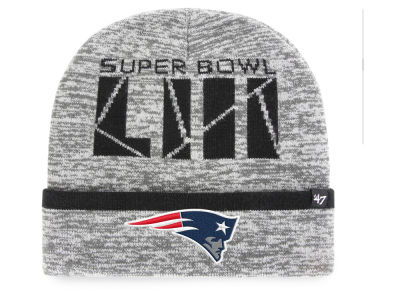 New England Patriots '47 NFL Super Bowl LIII Birch Cuff Knit