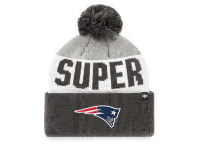 New England Patriots '47 NFL Super Bowl LIII Big Text Cuff Knit