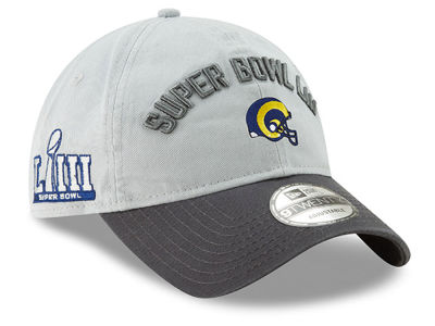 Los Angeles Rams New Era NFL Super Bowl LIII Participant 9TWENTY Cap 6c21302e1fce3