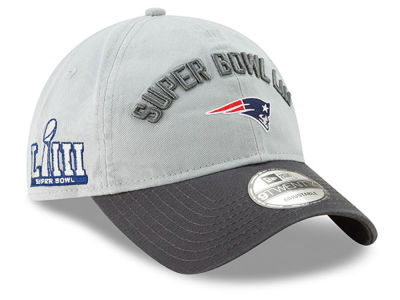 b2a526baf68 New England Patriots New Era NFL Super Bowl LIII Participant 9TWENTY Cap