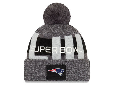 New England Patriots New Era NFL Super Bowl LIII Participant Pom Knit
