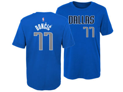 Dallas Mavericks Luka Doncic Outerstuff NBA Kids Replica Name and Number T-Shirt