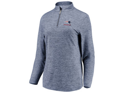 New England Patriots Majestic NFL Women s Super Bowl LIII Bound Half Zip  Pullover b996c1563e