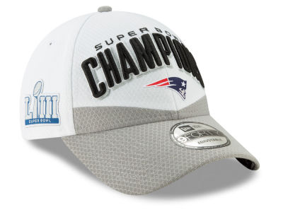 New England Patriots New Era NFL Youth Super Bowl LIII Champion Locker Room 9FORTY Cap