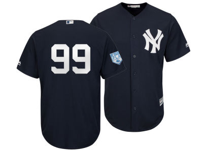 New York Yankees Aaron Judge 2019 MLB Men s Spring Training Patch Replica  Cool Base Jersey 03d2436cd90