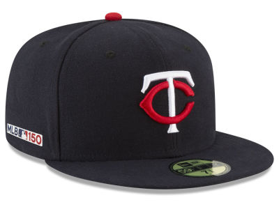 Minnesota Twins New Era MLB 150th Anniversary 59FIFTY Cap