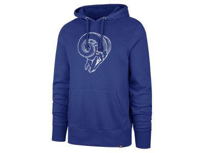 Los Angeles Rams  47 NFL Men s Retro Knockaround Hoodie c2e0cdb5c