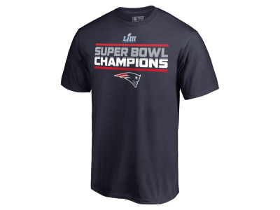 New England Patriots Majestic NFL Men's Super Bowl LIII Champion Special Teams T-Shirt