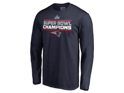 New England Patriots Majestic NFL Men's Super Bowl LIII Champion Special Teams Long Sleeve T-Shirt