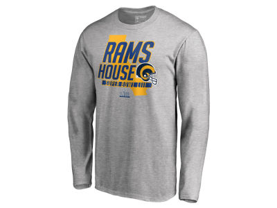 6b4ae4898 Los Angeles Rams Majestic NFL Men s Super Bowl LIII Bound Hometown Local Long  Sleeve T-