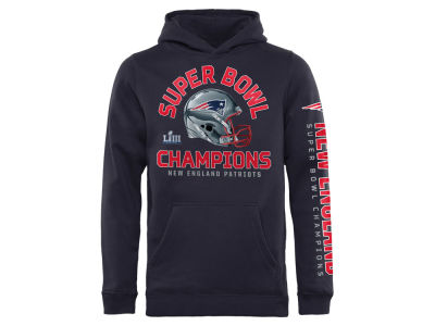 New England Patriots NFL Youth Super Bowl LIII Championship Hoodie