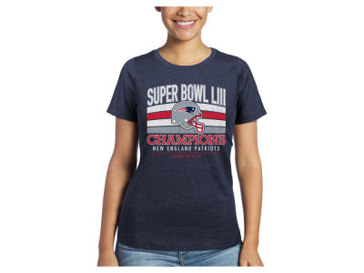 New England Patriots Majestic NFL Women's Super Bowl LIII Championship Classic Game T-Shirt