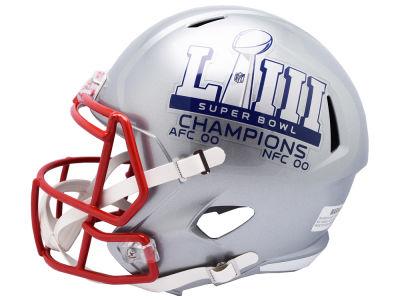 3301e313c92 New England Patriots Riddell NFL Super Bowl LIII Champion Speed Replica  Helmet