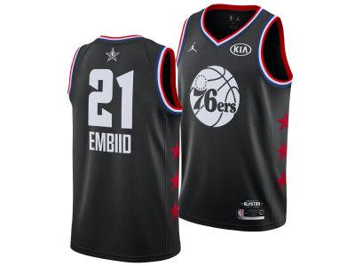 e958765c2 Philadelphia 76ers Joel Embiid Jordan 2019 NBA Men s All-Star Swingman  Jersey