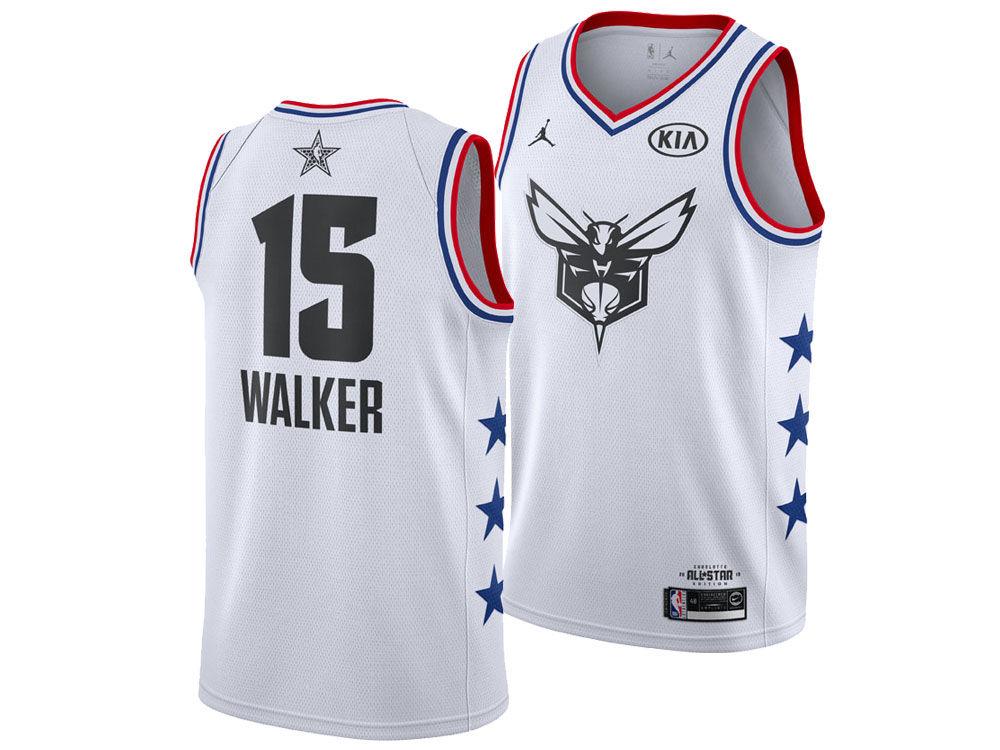 Charlotte Hornets Kemba Walker Jordan 2019 NBA Men s All-Star Swingman  Jersey  193a72288