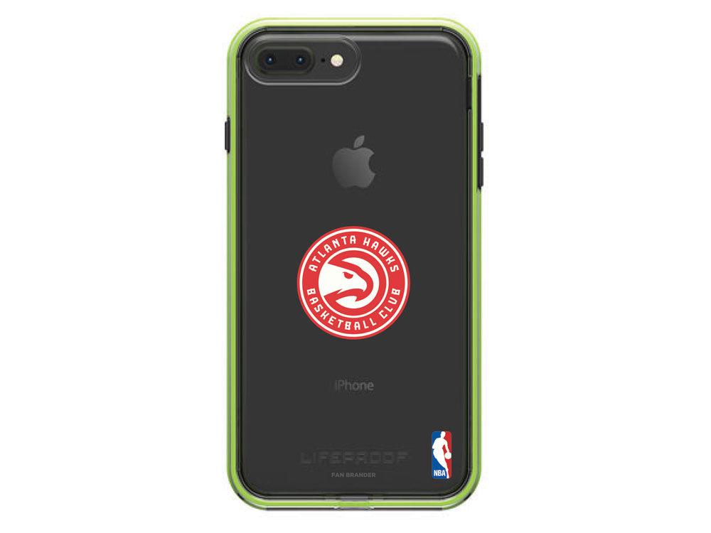 new arrival 1cb83 19a00 Atlanta Hawks OtterBox NBA LifeProof iPhone 8 Plus /7 Plus Case