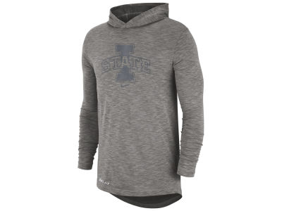 Nike NCAA Men's Slub Hooded Long Sleeve T-Shirt