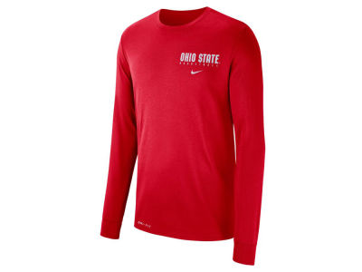 Nike NCAA Men's Dri-Fit Basketball Long Sleeve T-Shirt