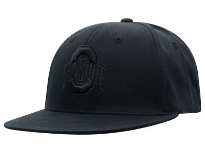 Top of the World NCAA All Black Core Snapback Cap Hats