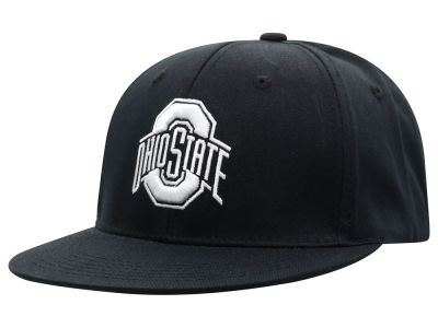 Top of the World NCAA Black White Core Snapback Cap Hats