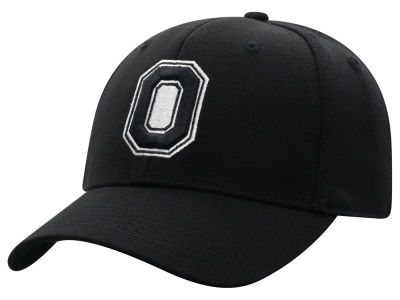 Top of the World NCAA Black White Flex Cap Hats
