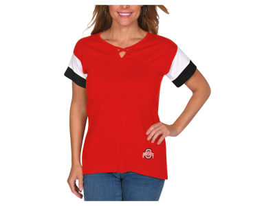 NCAA Women's Crisscross Colorblocked T-Shirt