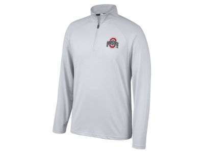 Top of the World NCAA Men's Lowry Microstripe Quarter Zip Pullover